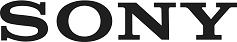Sony logo in black text